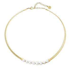 Collar Galatea chapado en oro