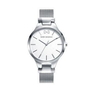 Reloj Mujer Alfama acero malla milanesa