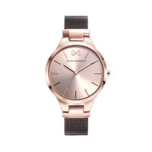 Reloj mujer Alfama malla milanesa marron