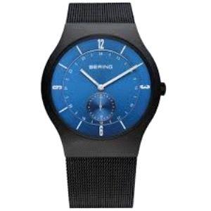 Reloj Hombre clasico malla milanesa