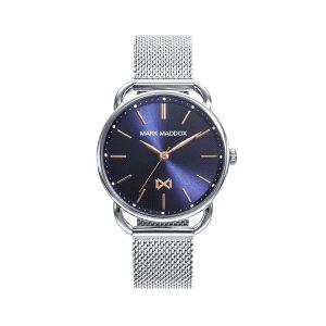 Reloj Mujer Midtown acero y esfera azul