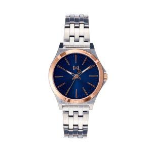 Reloj Mujer chic esfera azul