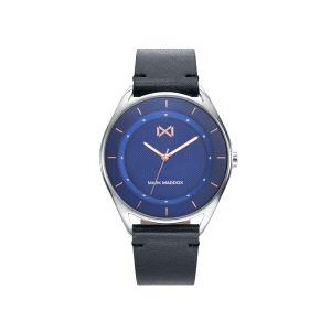 Reloj Hombre Venice piel y esfera azul