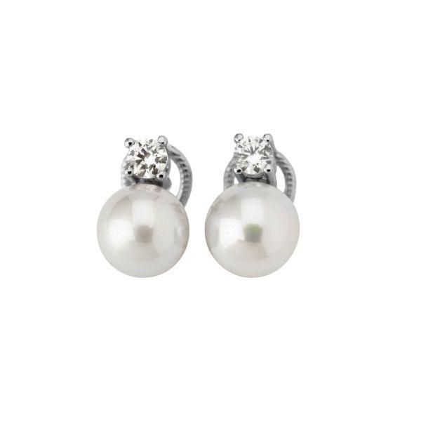 Tu y Yo pendientes plata con perla 8mm