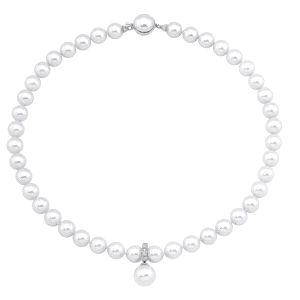 Collar Lilit de perlas con colgante ajustable