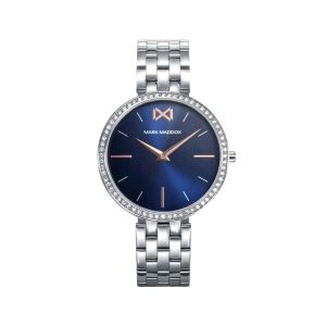 Reloj Mujer Alfama acero y esfera azul
