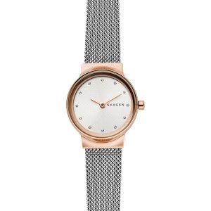 Reloj Mujer Freja plano bicolor