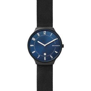 Reloj Hombre Grenen de Malla Esfera Azul