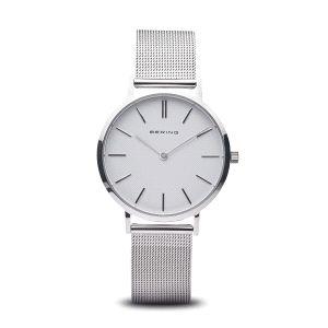 Reloj mujer minimalista plateado