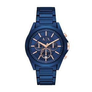 Reloj hombre Drexler azul cronógrafo