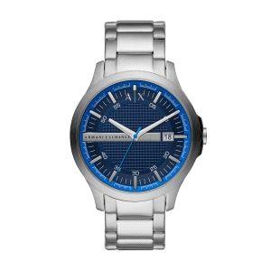 Reloj Hombre Hampton plateado y azul