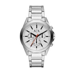 Reloj Hombre Drexler cronógrafo blanco