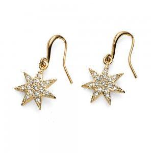 earrings Sissi Gold Crystal