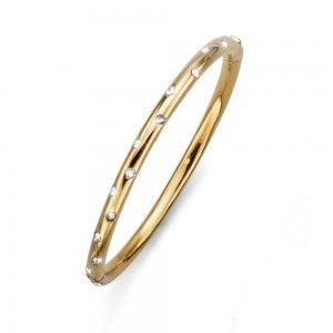 pulsera Next Dorado Cristal