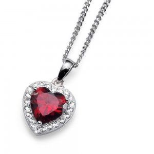 pendant Meaning 925ag Red