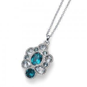 colgante Keen Rodio Turquoise
