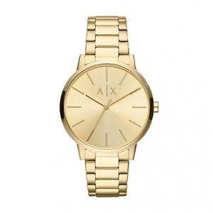 Reloj Hombre clasico chapado en oro Cayd