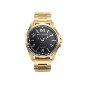 Reloj Hombre Mission dorado y negro