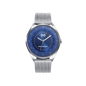 Reloj Hombre Venice azul con correa acero