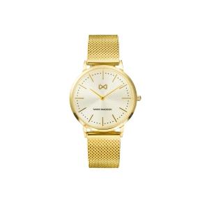 Relojes Mujer Greenwich con correa dorada