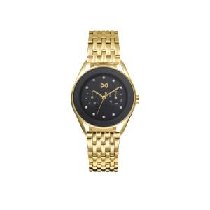 Reloj Mujer Venice multifunción dorado