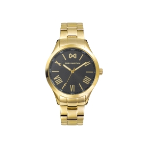 Reloj Mujer Tooting negro y dorado
