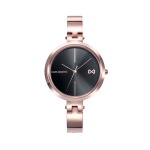 Reloj mujer Alfama de oro rosa y negro