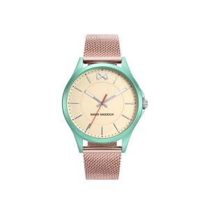 Reloj Mujer Shibuya oro rosa y verde