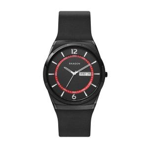 Reloj Hombre Melbye negro con silicona