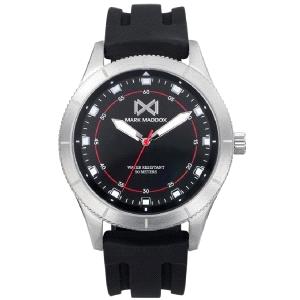 Reloj hombre Mission de caucho negro
