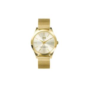Reloj hombre Marais analógico dorado
