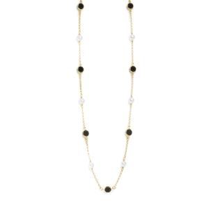 Collar Manacor perlas y swarovski