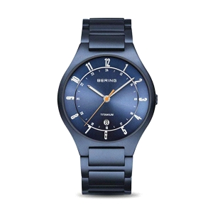 Reloj Hombre TITANIUM azul mate