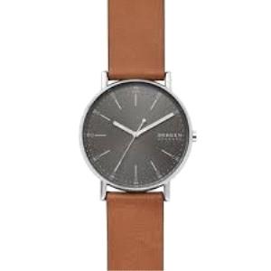 Reloj Hombre Signatur piel marron