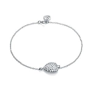 Pulsera Jewels de corazón con circonitas