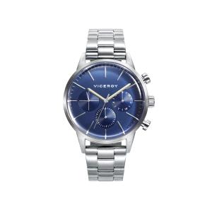 Reloj hombre BEAT con esfera azul multifunción