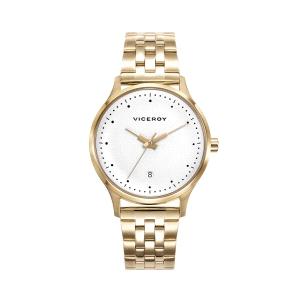 Reloj mujer SWITCH con armis de acero dorado