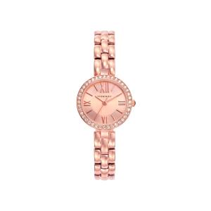 Reloj mujer CHIC de acero con baño oro rosa-461032-93