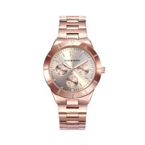 Reloj mujer CHIC de oro rosa multifunción