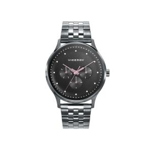 Reloj hombre SWITCH multifunción con esfera negra