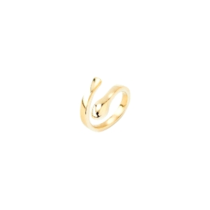 Anillo dorado A PERFECT MATCH 18