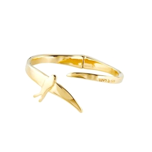 Pulsera mujer COME FLY WITH ME dorado