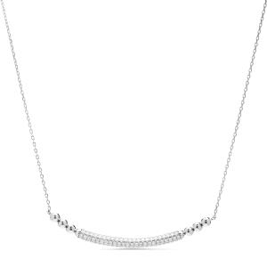 Collar Sarawise en plata con Circonita brillante