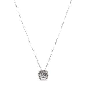 Colgante Irtha de plata con circonitas