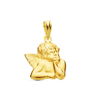 Colgante Angel de la Guarda Oro 18kt
