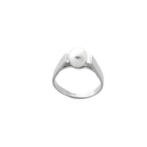 Anillo Nuada de plata y perla 7mm