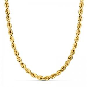 Cordón Oro 18kt salomónico 50cm x 5mm