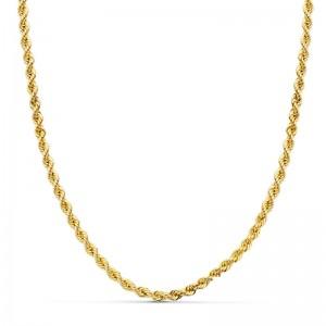 Cordón Oro 18kt salomónico 45cm x 3,5mm