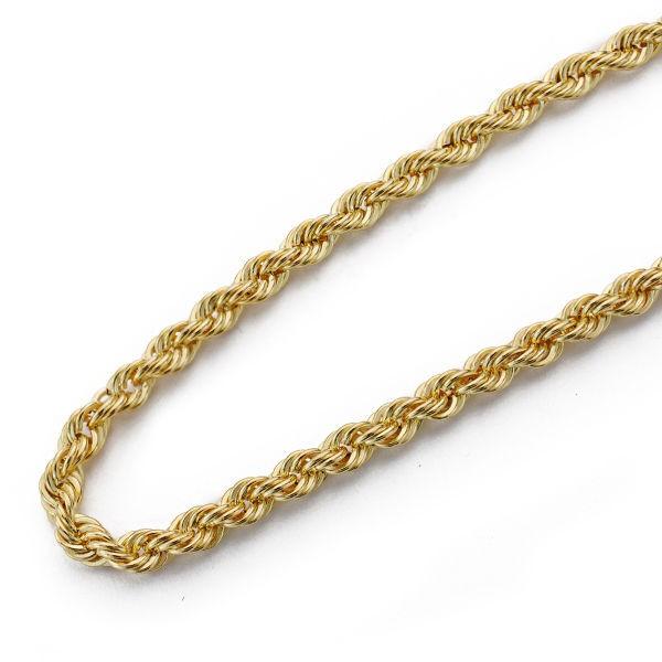 Cordón Oro 18kt salomónico 40cm x 3,5mm