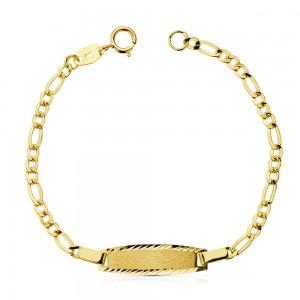 Esclava con cadena Cartier en Oro de 18 Kt -13 cm